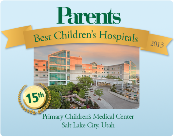 Parent's Magazine Best Children's Hospital Emblem